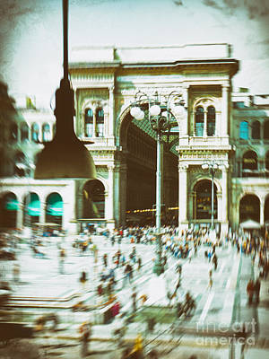 Photograph - Milan Gallery by Silvia Ganora
