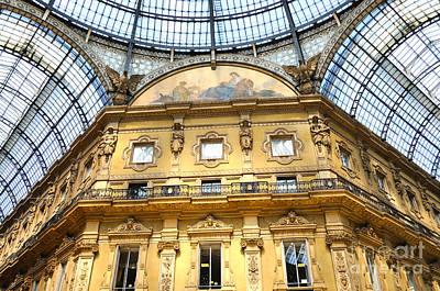 Photograph - Milan Mall by Haleh Mahbod