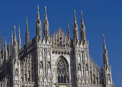 Milano Dome Detail Art Print by Ioan Panaite