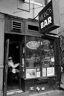 Milano's Bar 2 Print by Andrew Fare