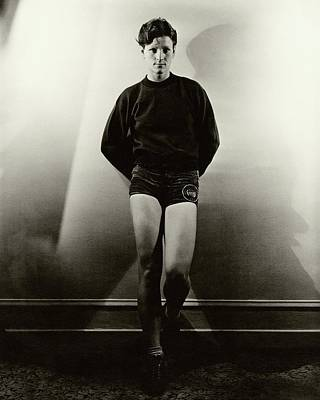 Photograph - Mildred 'babe' Didrikson Wearing Running Shorts by Lusha Nelson