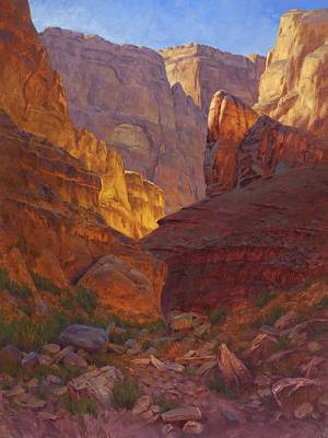 Western Art Painting - Mile 202 Canyon by Cody DeLong