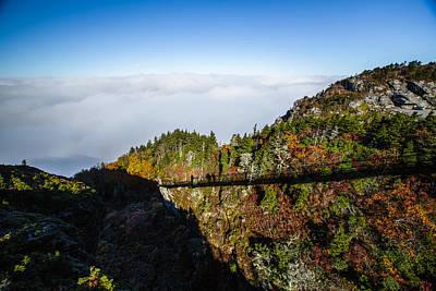 Blue Ridge Photograph - Mile High Bridge by John Haldane