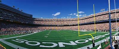 Pleasure Photograph - Mile High Stadium by Panoramic Images