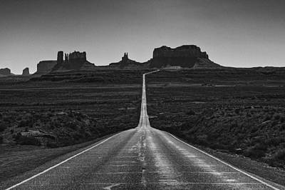 Monument Valley Wall Art - Photograph - Mile Marker 13 by Medicine Tree Studios