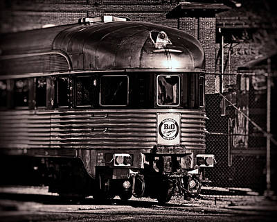 Photograph - Mile One Express Black And White by Bill Swartwout