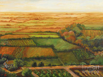 Painting - Miles And Miles Of Land by Pati Pelz