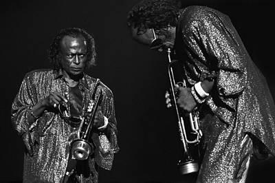 Photograph - Miles Davis by Dragan Kudjerski
