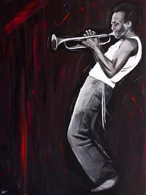 Miles Davis Original by Harry Moses