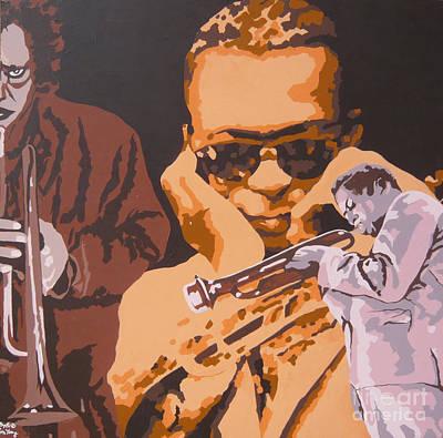Miles Davis I Original by Ronald Young