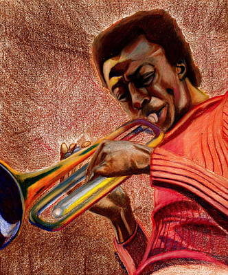 Miles In Color 3 Art Print by Dallas Roquemore