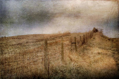 Fence Row Photograph - Miles Of Bliss by Kathy Jennings