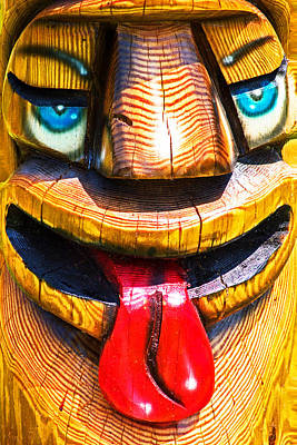 Photograph - Miley Totem by Bill Swartwout Fine Art Photography