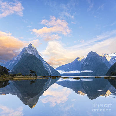 Photograph - Milford Sound New Zealand by Colin and Linda McKie
