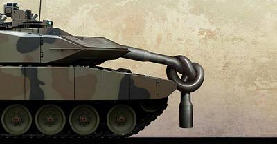 Military Disarmament Art Print by Smetek
