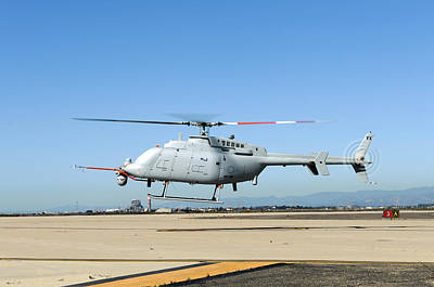 Rotary Wing Aircraft Photograph - Military Helicopter Drone by Us Navy