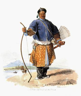Mandarin Painting - Military Mandarin, 1797 by Granger