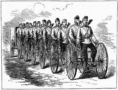 Military Multicycle Art Print by Universal History Archive/uig