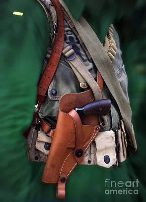 Tom Boy Digital Art - Military Small Arms 02 Ww II by Thomas Woolworth