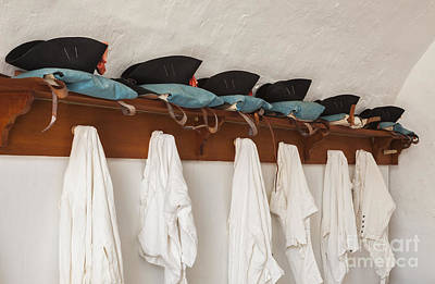 Photograph - Military Uniforms In El Morro Fort by Bryan Mullennix