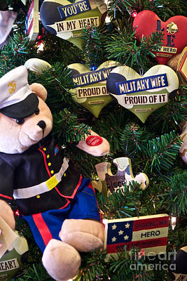 Photograph - Military Wife's Christmas Card by Vinnie Oakes