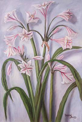 Painting - Milk And Wine Lily by Randol Burns