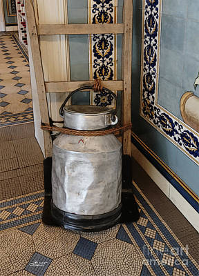 Photograph - Milk Can by Jutta Maria Pusl