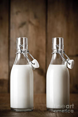 Milk Bottle Photograph - Milk by Amanda Elwell