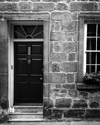 Stone Buildings Photograph - Milk Delivery In Black And White by Greg Mimbs