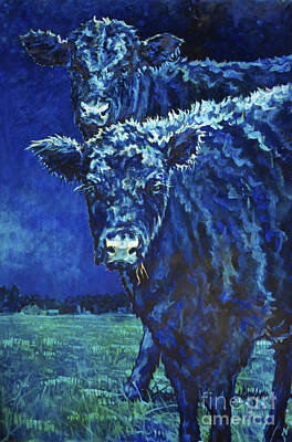 Milk Moon Art Print by Patricia A Griffin