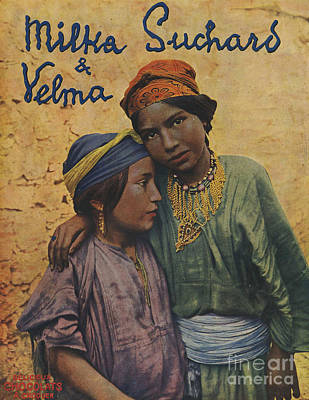 Nineteen-tens Drawing - Milka Suchard & Velma 1910s France  Cc by The Advertising Archives
