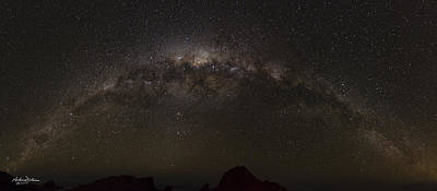 Busselton Photograph - Milkyway Over Sugarloaf by Andrew Dickman