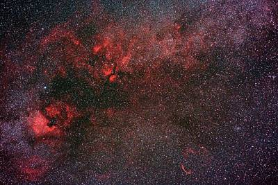 Milky Way And Cygnus Art Print