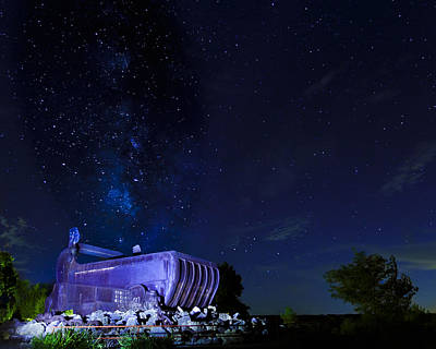 Photograph - Milky Way And The Big Muskie Bucket by Jack R Perry
