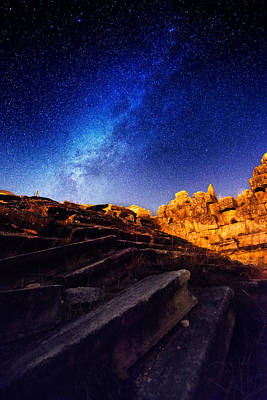 Photograph - Milky Way At Aizanoi-2 by Okan YILMAZ