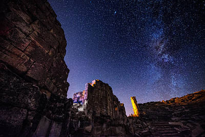 Photograph - Milky Way At Aizanoi by Okan YILMAZ