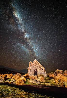 Photograph - Milky Way At Cgs by Mkazmi