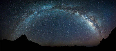 Photograph - Milky Way Bow by Chris Multop