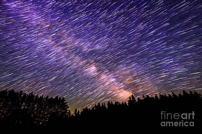 Milky Way Comet Star Trails  Original