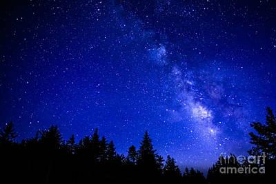 Milky Way Cranberry Wilderness Art Print by Thomas R Fletcher