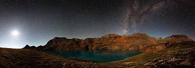 Copyright 2013 By Mike Berenson Photograph - Milky Way Dreams At Columbine Lake by Mike Berenson