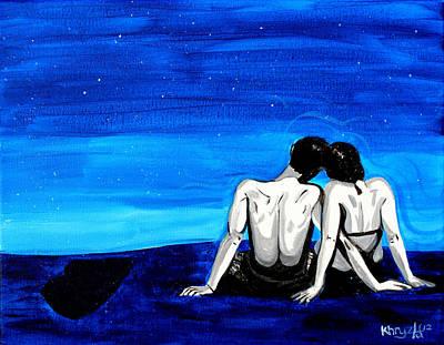 Painting - Milky Way by Khryztof