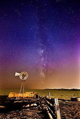 Photograph - Milky Way by Kyle Simpson