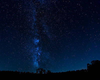 Photograph - Milky Way Ohio Recreation Lands by Jack R Perry