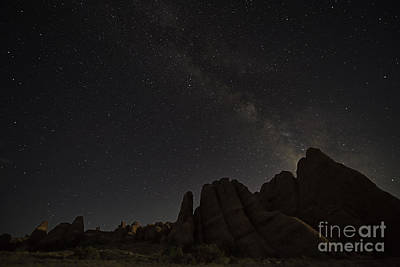 Photograph - Milky Way On Rocks by Chuck Smith