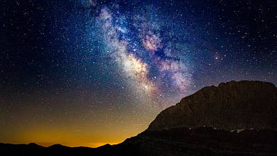 Milky Way On Top Of Mount Olympus Original by Lev Paraskevopoulos
