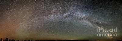 Photograph - Milky Way Over Chadron State Park by Chuck Smith