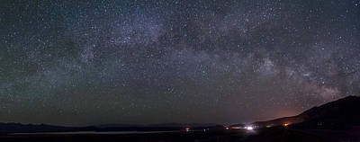 Photograph - Milky Way Over Crowley Lake by Cat Connor
