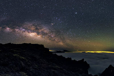 La Galaxy Photograph - Milky Way Over La Palma by Babak Tafreshi