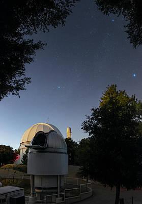 Milky Way Over Mount Wilson Observatory Art Print by Babak Tafreshi